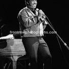 "Singer Ben E. King 8""x10"" BW Concert Photo"