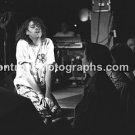 """Musician Bob Geldof 8""""x10"""" BW Concert Photo"""