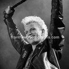 "Singer Billy Idol 8""x10"" BW Concert Photo"