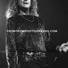 "Singer Robert Plant 8""x10"" BW Concert Photo"