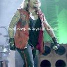Motley Crue SInger Vince Neil 8x10 Color Concert Photo