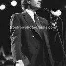 "Singer Julio Iglesias 8""x10"" BW Concert Photo"