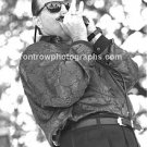 "Fabulous Thunderbirds SInger Kim Wilson 8""x10"" BW Concert Photo"