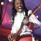 """Earth, Wind & Fire Bassist Verdine White 8""""x10"""" Color Concert Photo"""