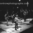 "Musicians Bob Dylan & Tom Petty 8""x10"" BW Concert Photo"