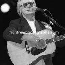 "Musician George Jones 8""x10"" BW Concert Photo"