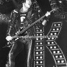 "KISS Bassist Gene Simmons 8""x10"" BW Concert Photo"