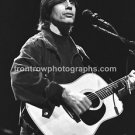 "Musician Jackson Browne 8""x10"" BW Concert Photo"