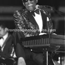 """Musician Ray Charles 8""""x10"""" Color Concert Photo"""