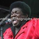 "Singer Charles Bradley The ""Screaming Eagle"" 8""x10"" Color Concert Photo"