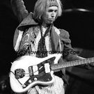 "Musician Tom Petty 8""x10"" BW Concert Photo"