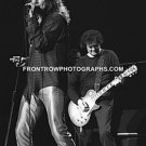 """Robert Plant & Jimmy Page 8""""x10"""" BW Concert Photo"""