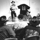"Musician Garth Brooks 8""x10"" BW Press Conference Photo"