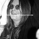 "Singer Ozzy Osbourne 8""x10"" Black & White Photo"