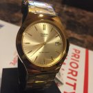 Casio Men's MTP1170N-9A Gold Tone Stainless-Steel Quartz Watch With Gold Tone