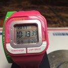 Women's Pink Casio Sport Stopwatch Alarm Watch SDB100-4A