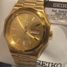 SEIKO SNK366K1 SEIKO5 Automatic Gold Men'sWatch Large Size Large Face