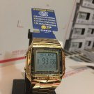 Casio DB 360G 9ADF Data Bank Gold Tone 10 year battery Unisex  Brand New