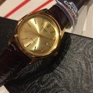 CASIO GOLD Tone WITH DATE  small LADIEs Brand New