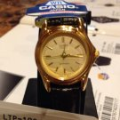 Casio Extra small  Watch Brown Band Color Gold Tone New w/ Tag