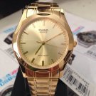 Casio Unisex  Gold Tone Classic Watch Quartz  MTP- 1275G-9adf brand New