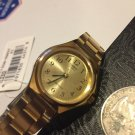 Casio Analog Casual Watch Enticer Gold Tone Ladies  LTP-1130N-9B Small New watch