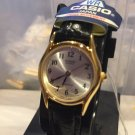 Casio LTP1094Q-7B2 Ladies Watch Black Leather Band Gold Tone New(extra small)