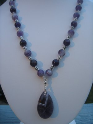 Amethyst with Bali Silver Accents