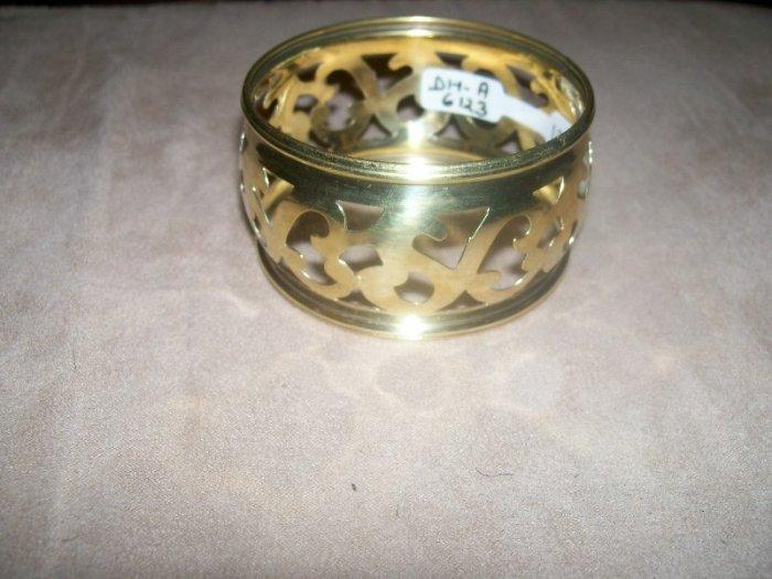 Gold patterned bracelet
