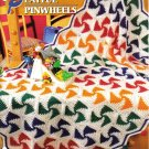 Annie's Attic Q & A Club~ Playful Pinwheels~ Free Shipping