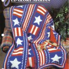 Annie's Attic Q & A Club~ Old Glory Afghan~ Free Shipping