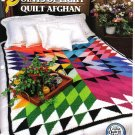 Annie's Attic Q & A Club~ Points Of Light Quilt Afghan~ Free Shipping