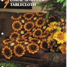 Annie's Attic Q & A Club~ Floral Afghan & Tablecloth~ Free Shipping