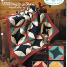 Needlecraft Shop~ Afghan Collector's Series~ Whirligig Blocks~ Free Shipping