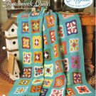 Needlecraft Shop~ Afghan Collector's Series~ Patchwork Quilt~ Free Shipping