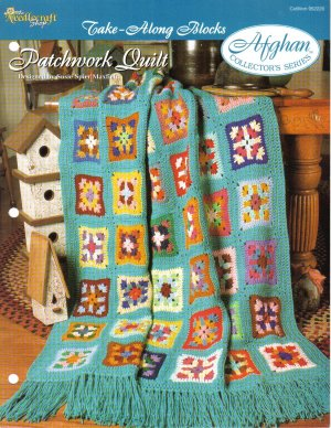 Needlecraft Shop~ Afghan Collector�s Series~ Patchwork Quilt~ Free Shipping