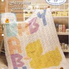 Needlecraft Shop~ Afghan Collector's Series~ Sleepytime Friend~ Free Shipping