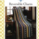 Vanna's Afghan & Crochet Favorites~ Reversible Charm~ Crochet Pattern~ Free Shipping