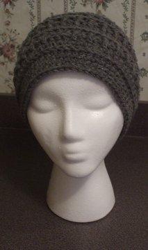 Men's Beanie Hat~ Grey~ Free Shipping
