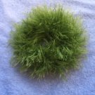 Ponytail Hair Scrunchie~ Lime~  Free Shipping