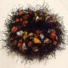 Ponytail Hair Scrunchie~ Tiger Eye~ Free Shipping