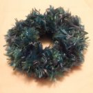 Ponytail Hair Scrunchie~ Peacock~ Free Shipping