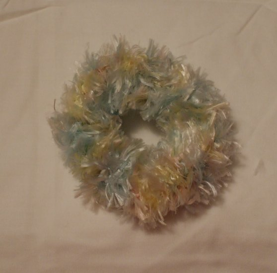 Ponytail Hair Scrunchie~ Pastel~ Free Shipping
