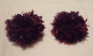 Baby/Toddler  Hair Scrunchie Scrunchies Pair~ Parrot~ Free Shipping