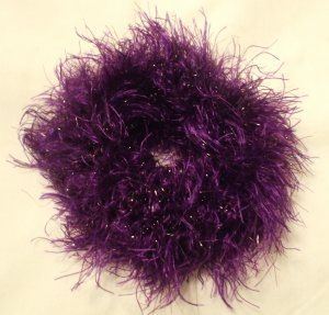 Ponytail Hair Scrunchie~ Motown Mauve~ Free Shipping