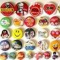 Discount  Button Maker Kit 37mm Badge Button Maker Machine 37mm Mould 100 Sets Pinback Supply