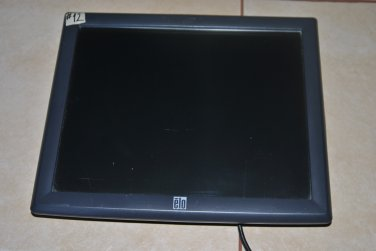 Elo Touch Solutions ET1715L Touchscreen Monitor EL1715L-7CWB-1-GY-G no stand may17 #12 hawk