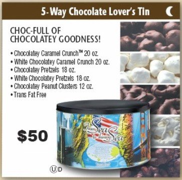 5 Way Chocolate Lover's Tin