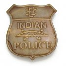 Old West Indian Police Badge