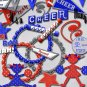Let's Cheer #1 Red & Blue Digital Scrapbooking Kit